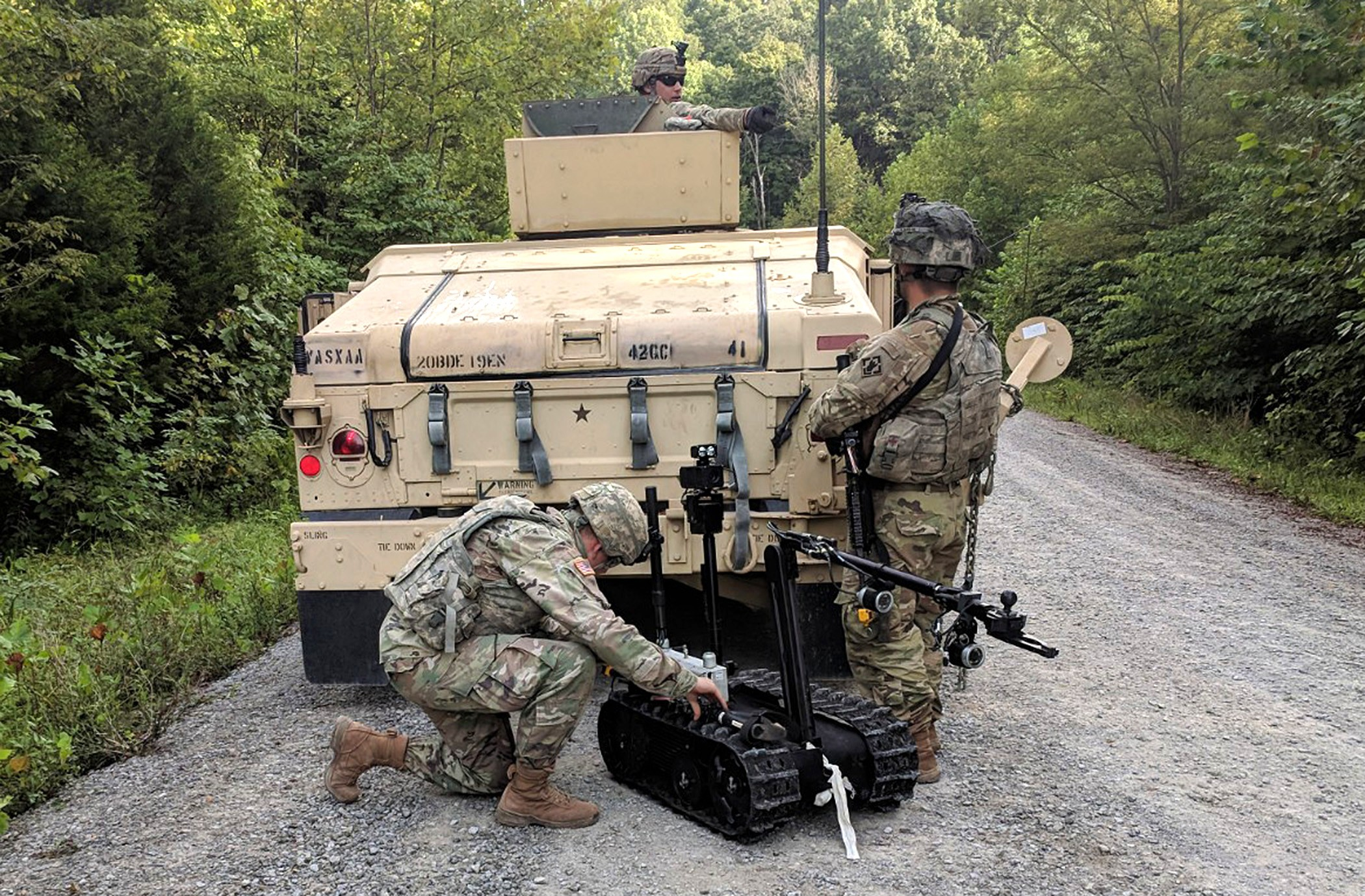 19th Engineers' 42nd Clearance Company deploys to clear the
