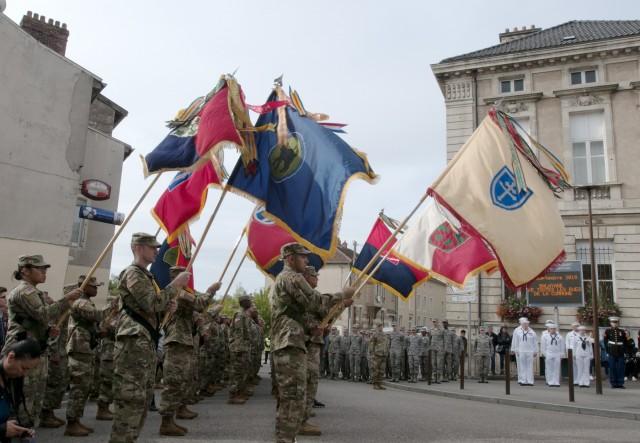 Army Reserve WWI legacy unit Color Guard