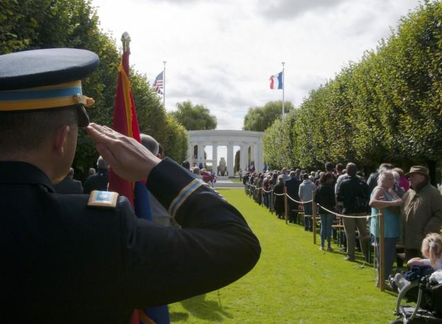 WWI Centennial Commemoration in Thaiucourt