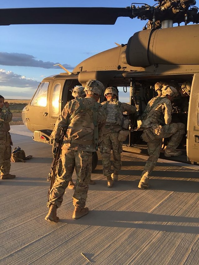 Iron Strike 18: Troops participate in PCMS training exercise