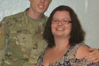 Fort Jackson Families pull together to help mom attend son's graduation