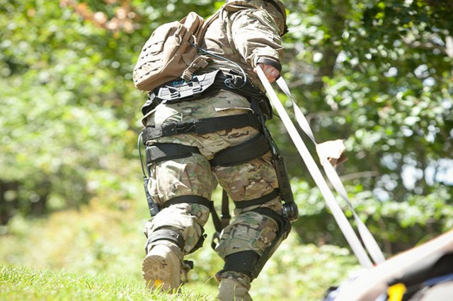 "The Natick Soldier Research, Development and Engineering Center is working with Lockheed Martin Space and Missile on a human augmentation system prototype. Trademarked under the name ""ONYX,"" the system is a powered, knee-based, mobility enhancing device that shows great potential for allowing Soldiers to stay in contact while maintaining peak performance longer, with equal or increased warfighting power."