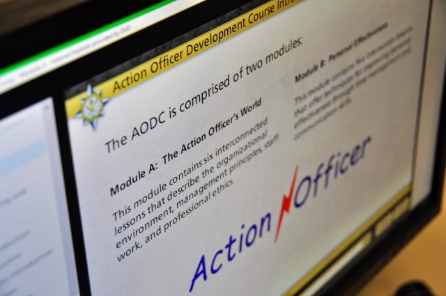 AMSC Launches new Action Officer course