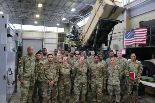 Enlisted leaders from U.S. Army Aviation and Missile Command invited noncommissioned officers from across Team Redstone to visit the PIF at Barclay Hall to learn how it offers its customers the necessary acquisition tools to aid in executing projects.