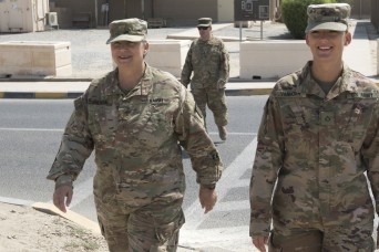 Army Reserve mother, daughter serve together overseas
