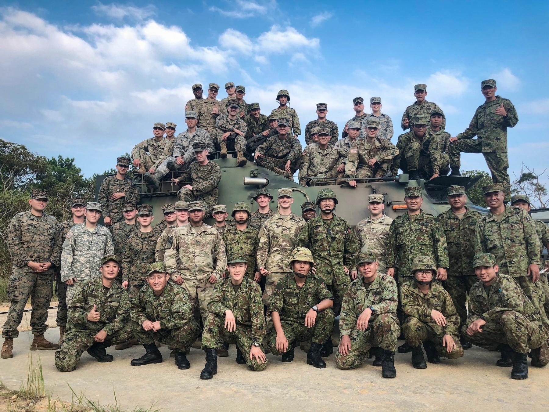 U S  Military units in Okinawa conduct Joint, Bilateral CBRN