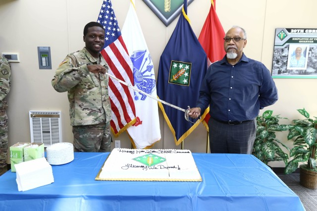 Last birthday cake for 20th CBRNE Command on APG South