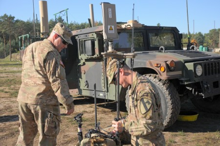 ZAGAN, Poland -- Soldiers on the ground are now capable of rapidly reacting to electronic and cyber data rather than waiting on their higher echelons.