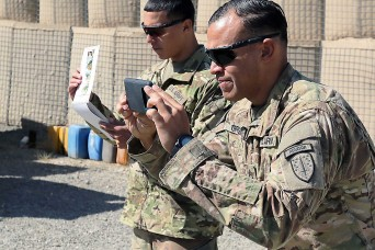 1st SFAB Soldiers produce videos to help train Afghan defense forces