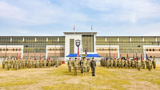 1st Armored Division brigade takes over 2ID tank unit rotation