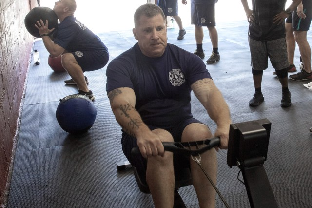 PICATINNY ARSENAL, N.J. - Firefighters at Picatinny Arsenal have placed a renewed emphasis on physical fitness.