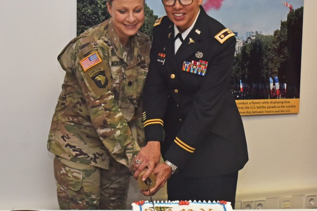 WIESBADEN, Germany - The U.S. Army Europe Physician of the Year was awarded to Maj. Malitza Rivera Cortes as the most qualified Physician Assistant within U.S. Army Europe.
