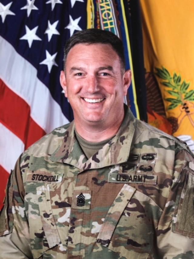 Command Sergeant Major Jacob E. Stockdill