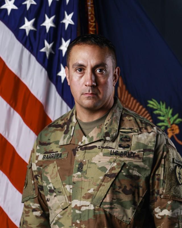 CSM Michael L. Barrera