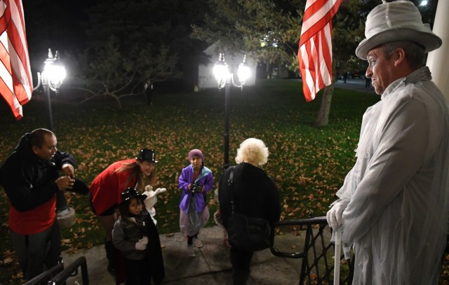 Community members discover haunted history at Fort Drum's LeRay Mansion