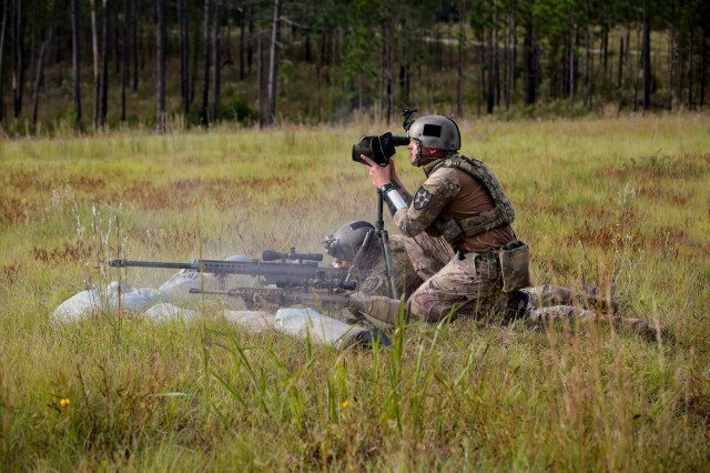 Bayonet Soldiers compete in International Sniper Competition