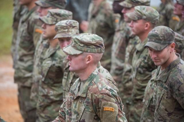 Graduates of the Ranger Course