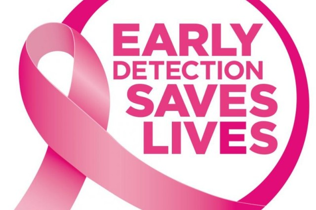 Early detection saves lives.