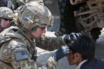 South Carolina National Guard Soldier paves the way