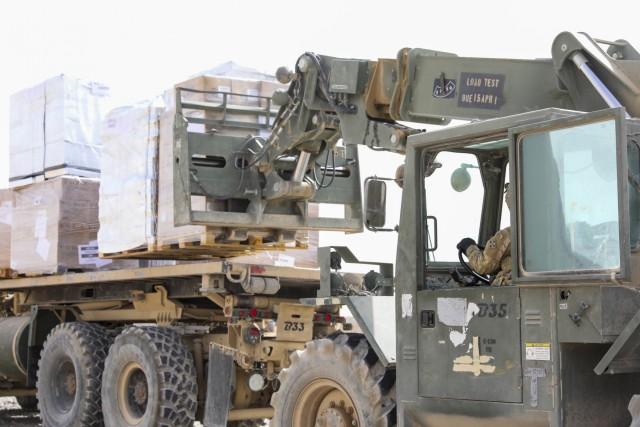 Forward logistics element Soldiers fuel operations in Tarin Kowt