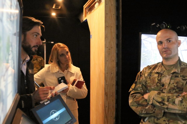 NYT reporter tours new Army STEM Experience
