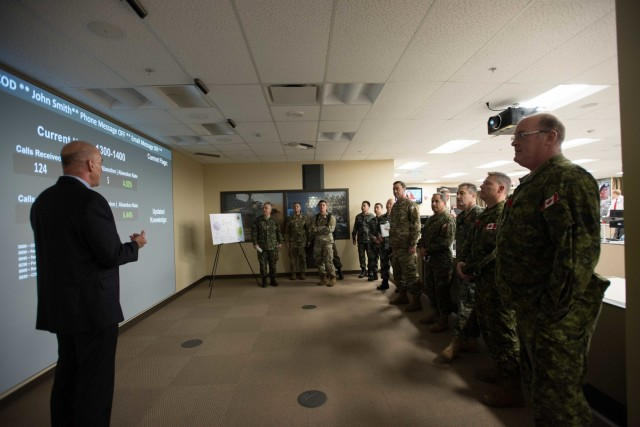 U.S. Army Human Resources Command builds partner capacity with foreign defense attaché visit