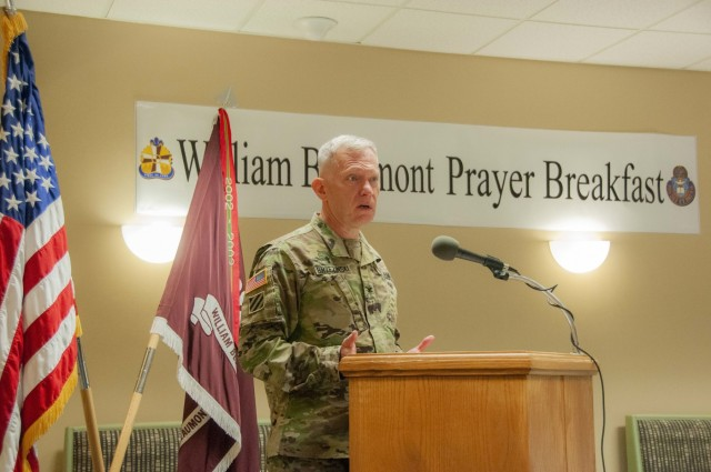 WBAMC prayer breakfast boosts 'holistic' readiness