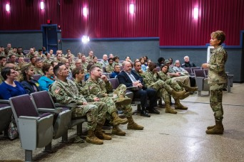 US Army surgeon general talks readiness and modernization