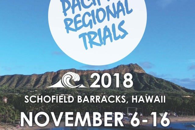 "The 2018 Pacific Regional Trials is Nov. 6-16 at Schofield Barracks, Hawaii. Approximately 150 seriously wounded, ill and injured service members and veterans will participate in the competition. The wounded warrior athletes represent U.S. Army Regional Health Commands from across the Pacific, Atlantic, and Central regions and all 14 of the U.S. Army Warrior Transition Battalions. This competition coincides with the military observance for November, ""Warrior Care Month,"" which recognizes Soldiers undergoing rehabilitative care throughout the year. Tripler Army Medical Center is proud to have one of the U.S. Army Warrior Transition Battalions, ""WTB-Hawaii,"" as part of the organization to support wounded, ill and injured Soldiers in their recovery. This is the second year in a row that WTB-Hawaii will lead the operational planning and coordination of the event."