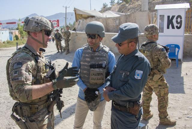 In Kabul, Army advisors help Afghans tighten security to deter bomb attacks