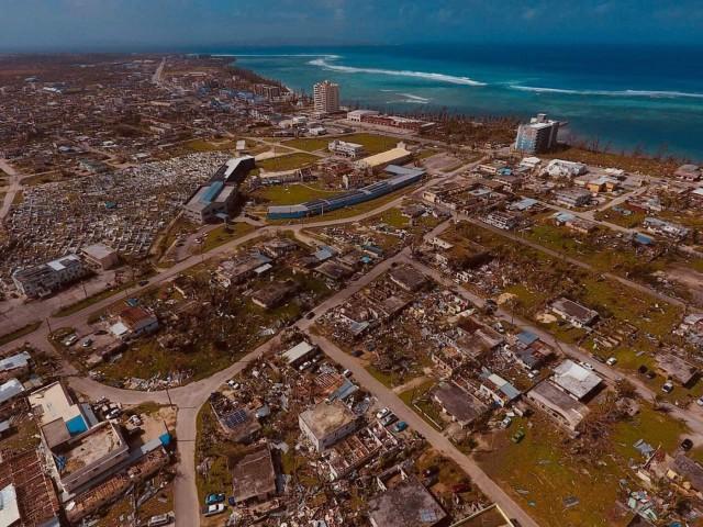Impact of Super Typhoon Yutu on Saipan