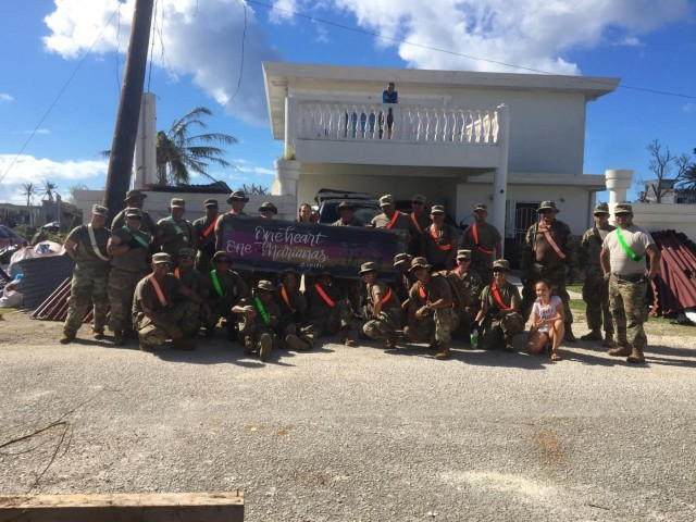 One heart- One Marianas: Soldiers of CNMI join recovery efforts