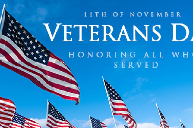 Veterans Day 2018 Article The United States Army