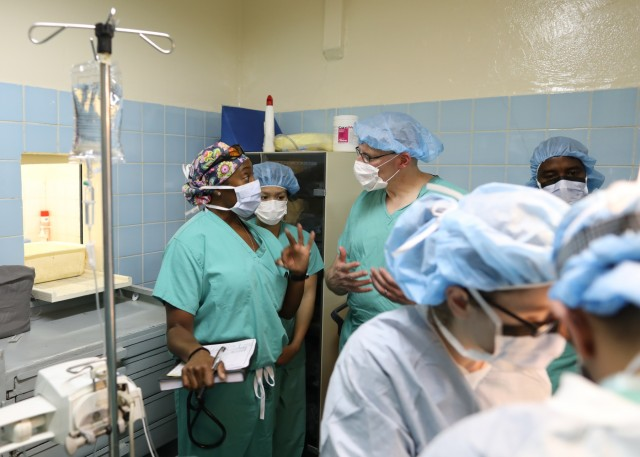 U.S. Army Africa MEDRETE 18-2: American and Chadian medical professionals treat patients, hone skills