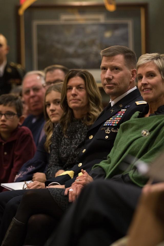 Brigadier General David M. Hodne Promotion Ceremony