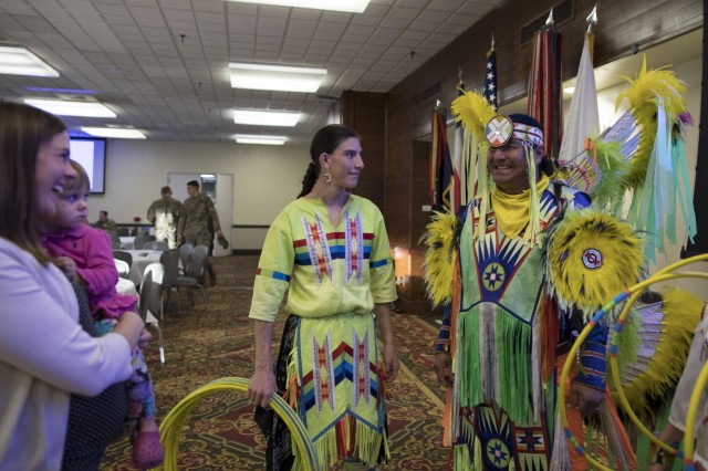 Fort Carson Native American Indian Heritage Month Observance 2017