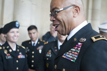 World War I African-American veteran inspired grandson, now Army Reserve deputy chief, to serve