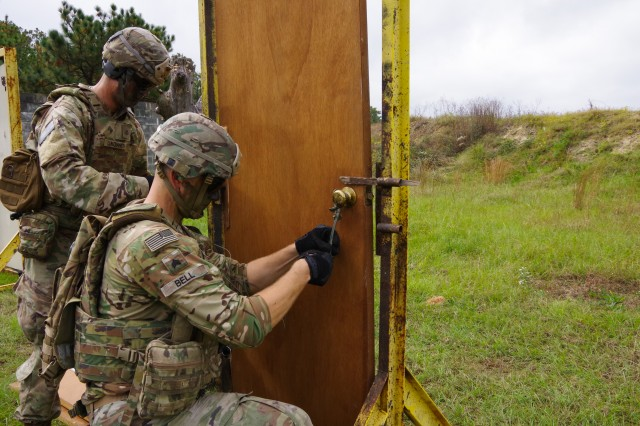 All American Engineers Train to Breach, Have a Blast