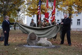 Marines dedicate Panzer Kaserne parade ground as 'Devil Dog Field'