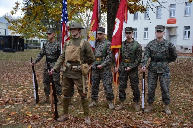 Marines dedicate Panzer Kaserne parade ground as 'Devil Dog