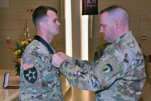 Staff Sgt. Christopher Stout Medal
