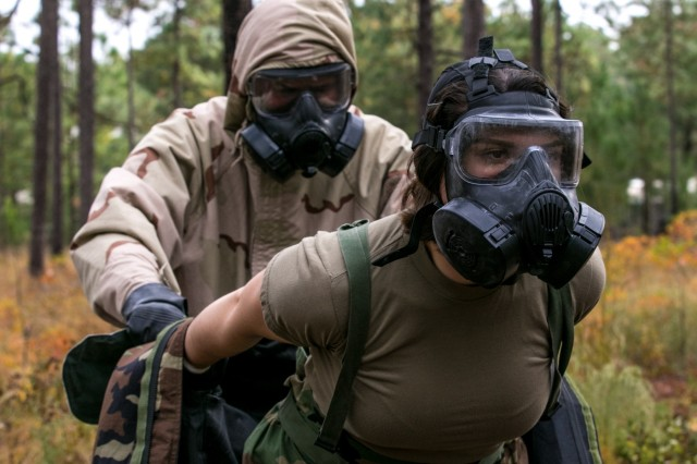 2018 Expert Field Medical Badge competition at Fort Bragg puts Soldiers abilities to the test