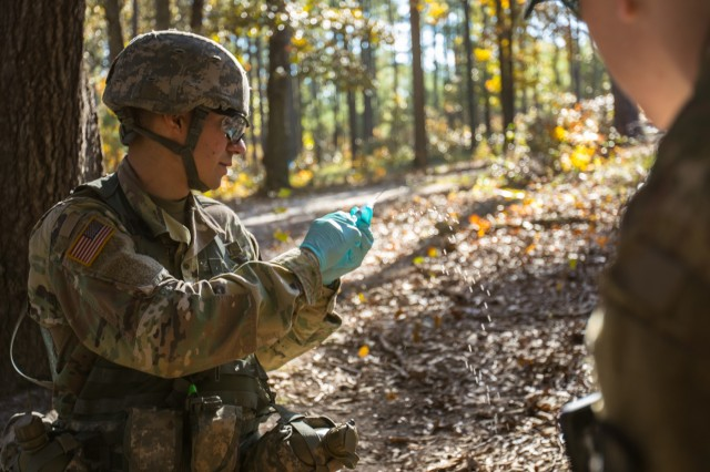 Army medical troops compete at Fort Bragg for coveted Expert Field Medical Badge