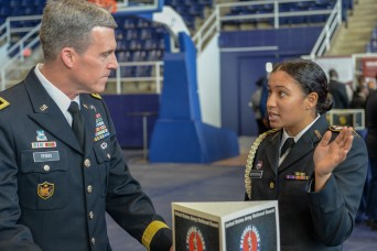 Army generals engage with cadets in annual development conference