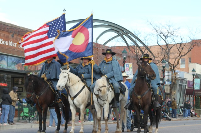 Soldiers support area's Veterans Day parade