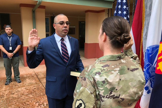 The United States Army Reserve Command announced, Nov. 13 that Julio Aponte has been selected as the new Command Executive Officer at the 1st Mission Support Command, U.S. Army Reserve-Puerto Rico, with headquarters at Fort Buchanan. The Command Executive Officer position is the senior federal civilian employee in the U.S. Army in Puerto Rico and the Caribbean.