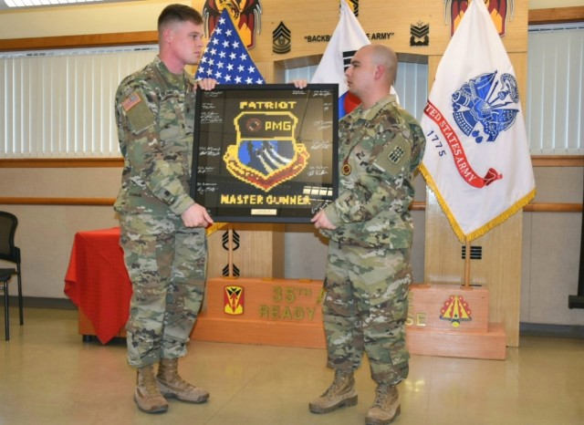 Air Defenders Recognized for Achieving Patriot Master Gunner Status