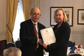 LMP's Noreen Bartley Receives GWAC SOLE Logistics Specialty Award