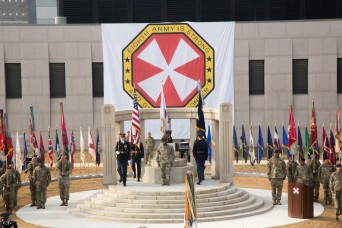 Eighth Army Change of Responsibility Ceremony