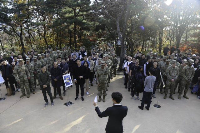 Keimyung University welcomes Soldiers of 19th ESC for Combined Organizational Day Celebration